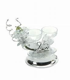 25th wedding anniversary cake decorations silver wedding cake decoration topper ebay