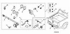 honda ridgeline trailer wiring harness diagram 08l91 sjc 1001b genuine honda bracket socket