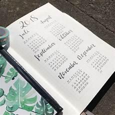 Bullet Journal Jahresübersicht - bullet journal die kreative ordnungshilfe gerstaecker