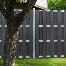 Sichtschutzzaun Aus Kunststoff - ein eleganter sichtschutzzaun aus kunststoff metall