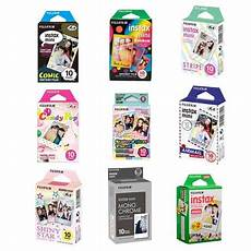 fujifilm instax mini bundle a 1 pack each of most