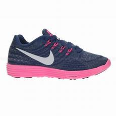 nike lunartempo 2 s running shoes blue pink