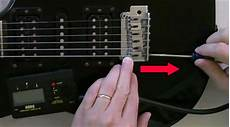 Guitar Intonation Setup