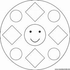 Malvorlagen Einfache Formen Mandalas F 252 R Kinder Ab 2 Jahren