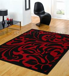Cheap Black Rug small large black modern damask area floor