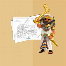 colouring sheet romans and egyptians playmobil 174 united