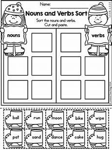 winter 1st grade no prep language arts worksheets by united teaching
