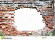 trou dans le mur photo stock image du closeup construit