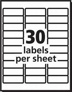 avery white laser address labels 1 x 2 58 box of 3000 by