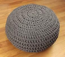 Comfy Crochet Pouf Diy Allfreecrochet