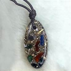 kalung oval orgonite