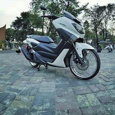 Velg Nmax Modif by Modifikasi Yamaha Nmax Velg Jari Jari Simpel Dan Keren