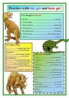 dinosaurs worksheets islcollective 15290 dinosaurs has got and got worksheet free esl printable worksheets made by teachers