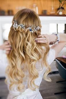 Hochzeit Frisur Offene Haare Festliche Frisuren Lange