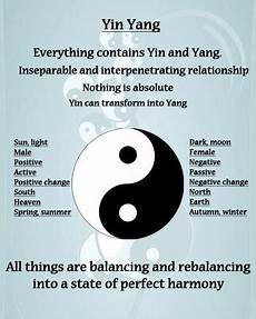 Yin Yang Bedeutung - practices that restore and rejuvenate restore