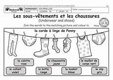 worksheets les vetements 18940 my home my holidays y3 y4 and shoes les sous v 234 tements et les