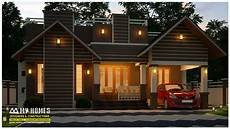 low cost house plans with photos in kerala modern 3 bedroom low budget home for 16 lakhs with 950