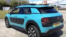 Citroen C4 Cactus Puretech Flair S S Blue 2015