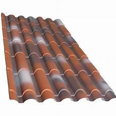 pannelli per tettoie lastra lamiera in finto coppo rossa antichizzata varie misure