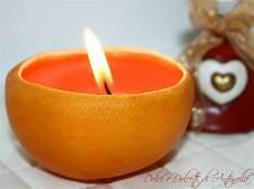 creare una candela candela arancio addobbi natalizi fai da te dolci e