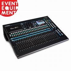 Hire Allen And Heath Qu 24 Digital Mixing Console Event