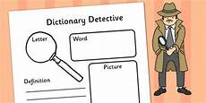 spelling detective worksheets 22361 dictionary detective worksheet word meanings definitions didactico