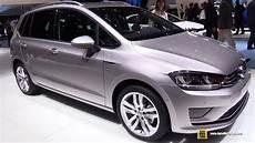 2015 Volkswagen Golf Sportsvan Tsi Lounge Exterior And