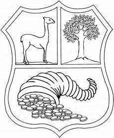 escudo perupara pintar de peru imagui escudo nacional del peru pintar imagui