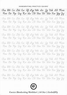 handwriting practice worksheets for free 21725 5 printable cursive handwriting worksheets for beautiful penmanship