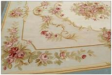 9x12 Blue Ivory Aubusson Rug Shabby Chic Home