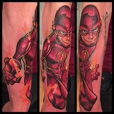 10 heroic tattoos of the flash tattoodo