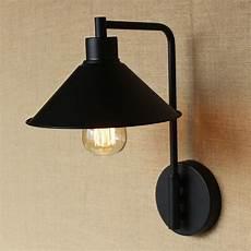 modern edison led wall l for bedroom vintage wall sconce black gold indoor lighting l led