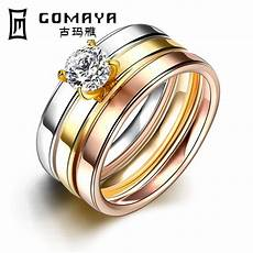 sale fashion men s titanium steel finger ring men party jewelry wedding engagement rings in