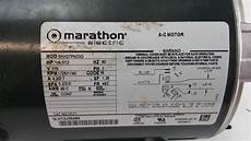 Electric Motor Marathon Electric Motor