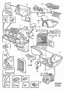 98 volvo s70 fuse diagram volvo s70 v70 oem fan motor part number 30755485