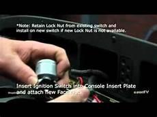 e z go ignition switch installation youtube