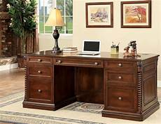 oak home office furniture vicki dark oak home office set from furniture of america