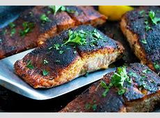 recipe for blackened salmon seasoning