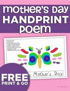 s day printable handprint poem 20557 160 best images about s day on happy mothers day mothers day coloring pages