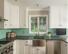 Turquoise Tile Backsplash
