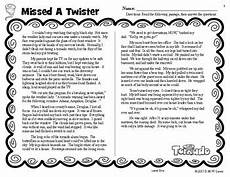 weather reading comprehension worksheets 14512 sle weather reading comprehension passages and questions fall reading