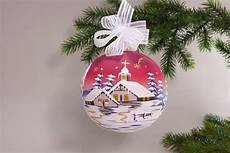 beleuchtete weihnachtskugeln fürs fenster fensterdekoration beleuchtete glaskugel 15cm rot
