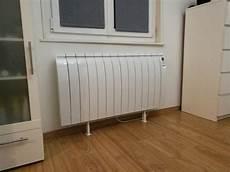 radiateur electrique sur pied pied blanc pour radiateur deltacalor firstone leroy merlin