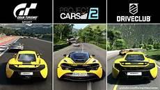 project cars 2 ps4 gran turismo sport vs project cars 2 vs driveclub