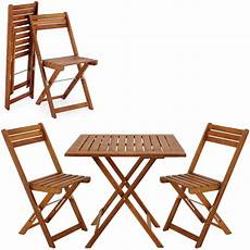 wooden furniture set balcony patio folding table chairs