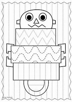 patterns for handwriting worksheets 115 17 best images about robot theme on make a robot preschool and q tip painting