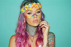 festival makeup trends the style astronaut