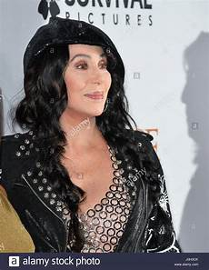 Cher Chanteuse 2017 Los Angeles Usa 12th Apr 2017 Singer Cher At