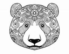 printable coloring pages for adults animals 17282 to print and colorfrom the gallery animals coloriage zen animaux coloriage ours