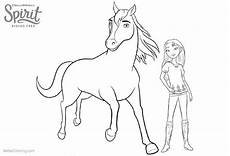 Malvorlagen Spirit Und Lucky From Spirit Free Coloring Pages With